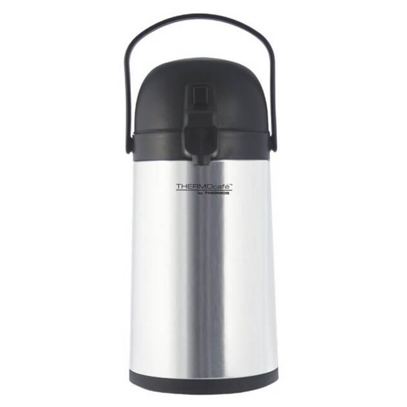 Thermos - Sifon Inox Botella De Vidrio Con Caja 1,5 Lts