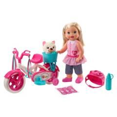 LITTLE MOMMY - Muñeca Little Mommy Paseo en Bici