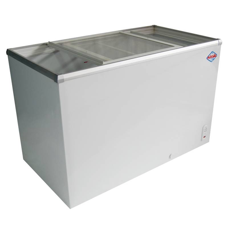 Maigas - Freezer Horizontal Blanco 330 lt SD410