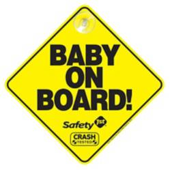 Safety 1St - Letrero Baby On Board