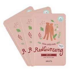 Pack 3 Mascarillas Hidratantes Fresh Garden - Red Ginseng