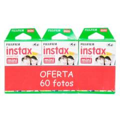 FUJI - Pack Instax Film 60 Fotos