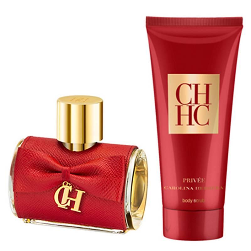 94f348dc28 Carolina Herrera Set Perfume Mujer CH Privée EDP 50 ML + Body Scrub ...