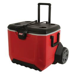 COOLER 55QT RUGGED 5865 RED/GRY/BLK