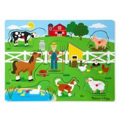 """Melissa & Doug - Puzzle de Sonidos """"Old MacDonald"""""""