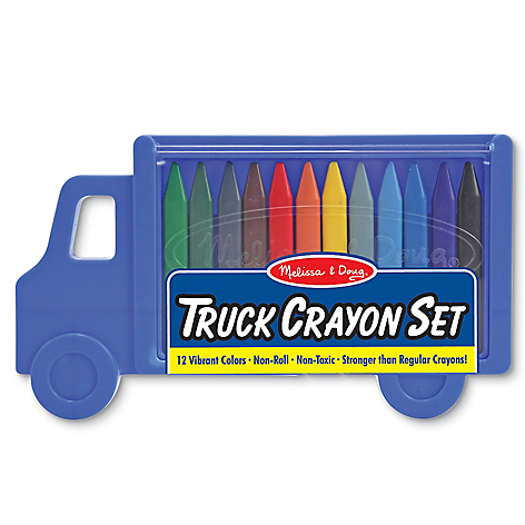 @MD TRUCK CRAYON SET