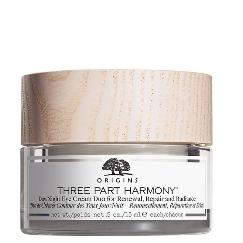 Origins - Crema hidratante para ojos día/noche Three Part Harmony