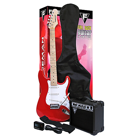 Freeman Guitarra Eléctrica Full Rock Rd Rojo