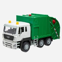 Recycling Truck Driven