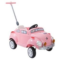 Auto de Arrastre Rosado Pushing Car
