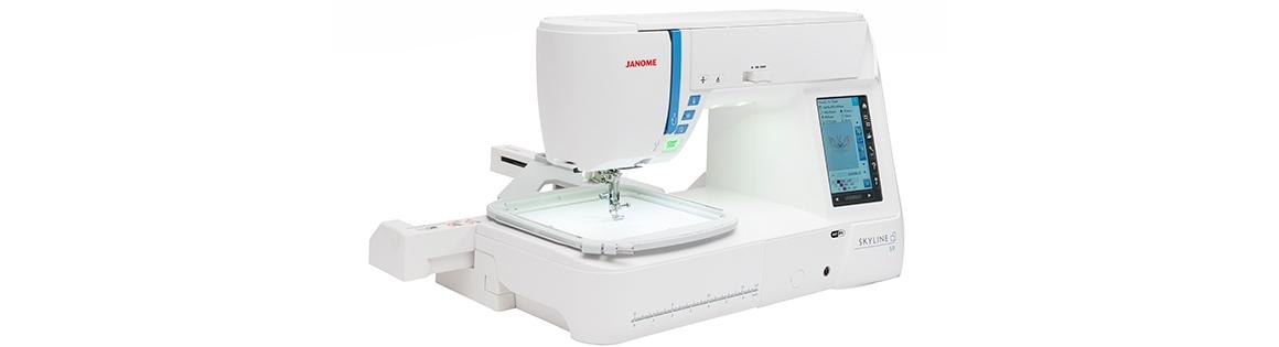 Janome Máquina Coser-Bordar Skyline S9 - Falabella.com