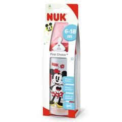 NUK - Mamadera 300 Ml Silicona Mickey