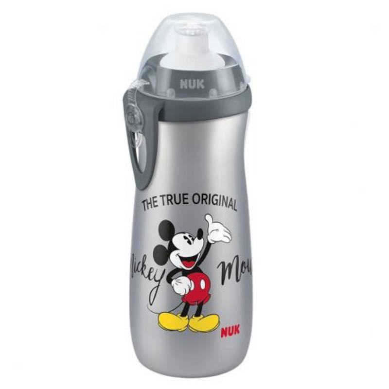 Nuk - Sports Cup Disney Mickey Gris 450 ml