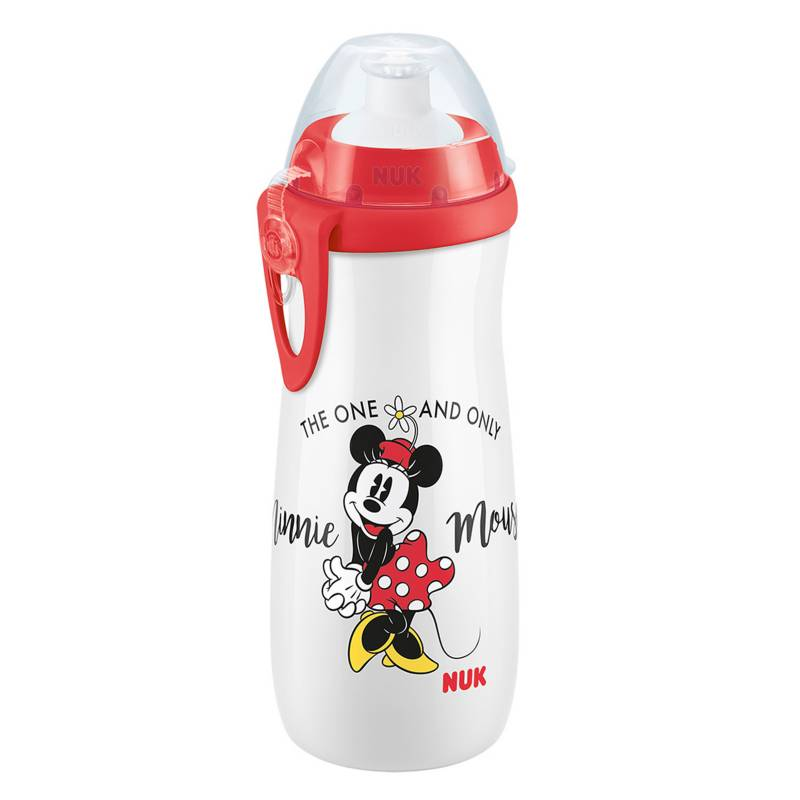 Nuk - Sports Cup Disney Minnie Rojo 450 ml