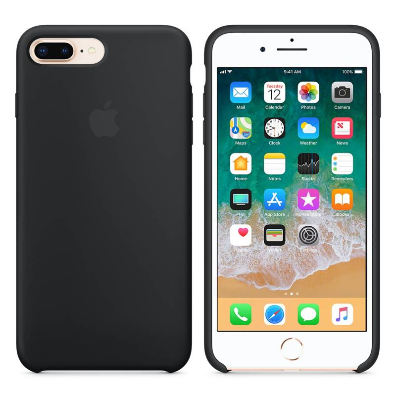 Funda Iphone 6 7 8 Plus Apple Original Silicona Case Centro en