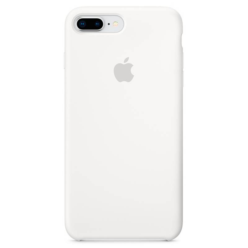 Apple - iPhone 7/8 Plus Silicone Case White