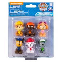 Paw Patrol - Set de 6 mini figuras Paw Patrol