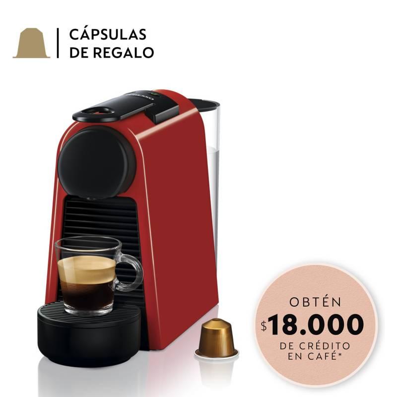 NESPRESSO - Cafetera Essenza Mini D30 Roja