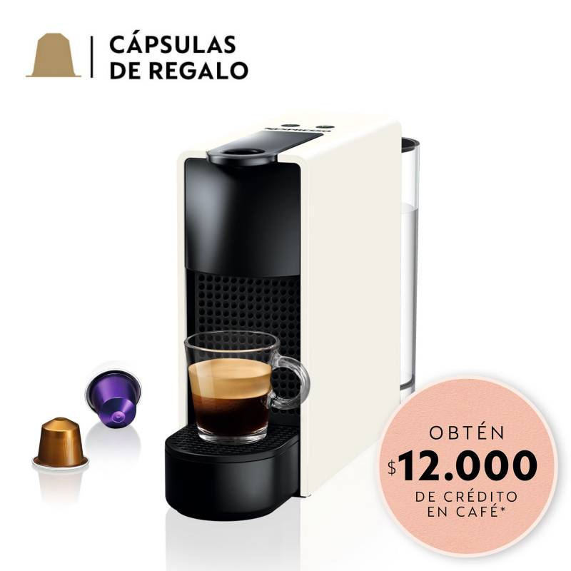 NESPRESSO - Cafetera Essenza Mini C30 Blanca