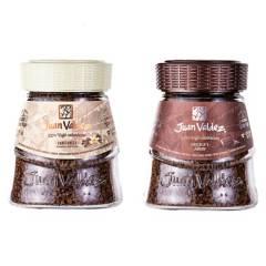 JUAN VALDEZ - Pack Soluble Liofilizado Vanicanela y Chocolate 95 g