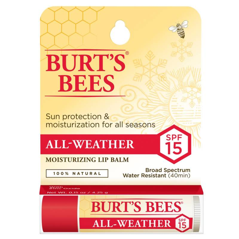 BURTS BEES - Bálsamo Labial Burt's Bees All Weather en Blister
