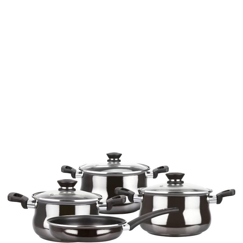 MAGEFESA - Baterías de cocina de acero  Zafiro 7 pzas
