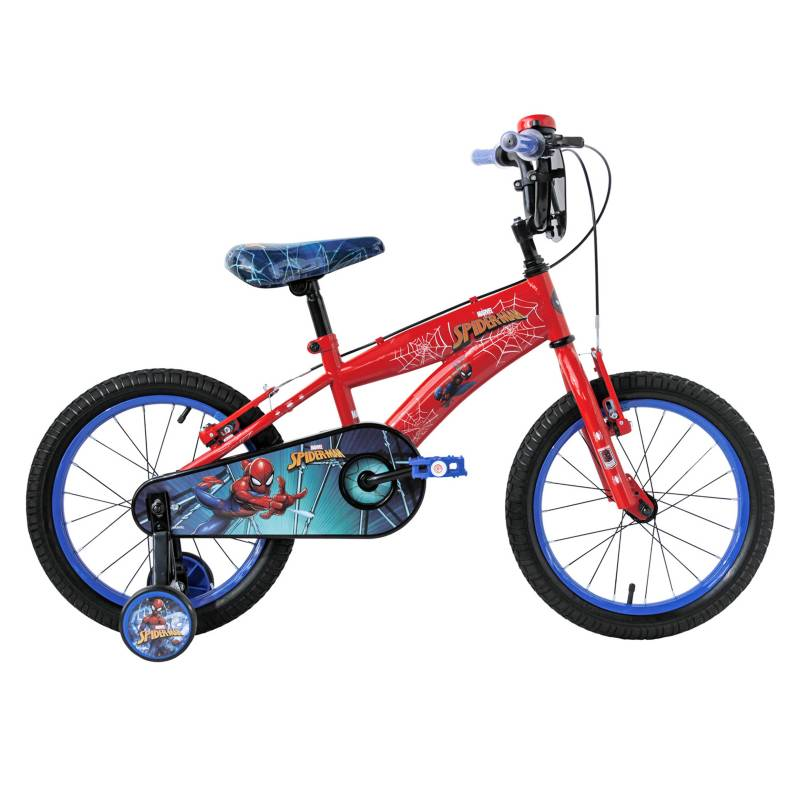 Lahsen - Mountain Bike Aro 16 Spiderman Rojo