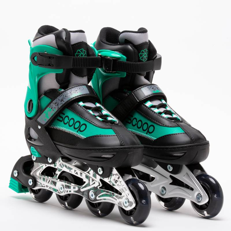 Scoop - Patines Scoop Verde con Luces