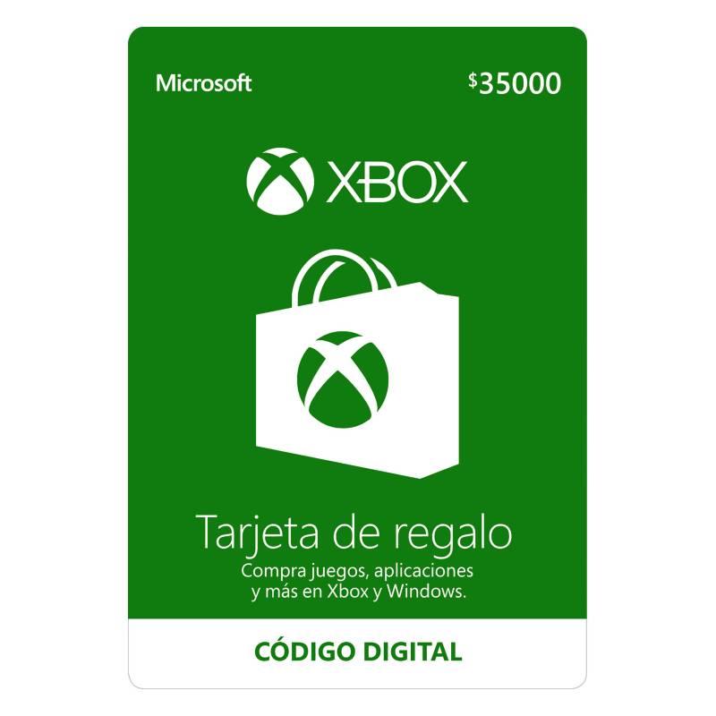 Microsoft - Tarjeta de Regalo Xbox 35.000: Código Digital