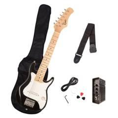 Epic - Pack Guitarra Eléctrica Niños Negra