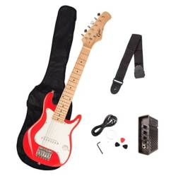 Epic - Pack Guitarra Eléctrica Niños Roja