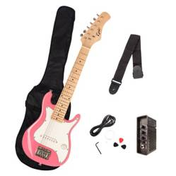 Epic - Pack Guitarra Eléctrica Niños Rosada