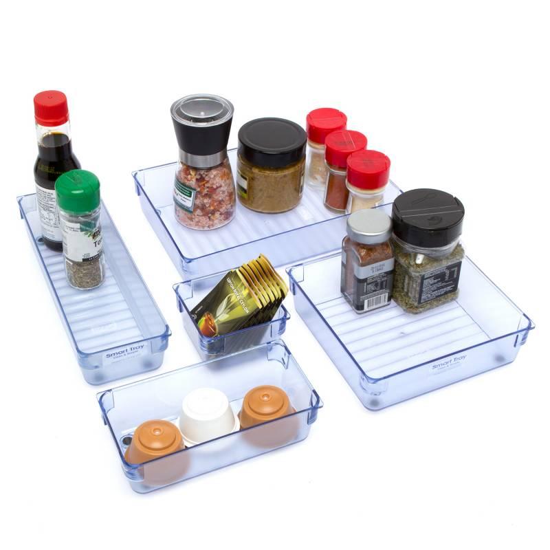 MAGLA - Organizador Cajón + Repisa Expansible