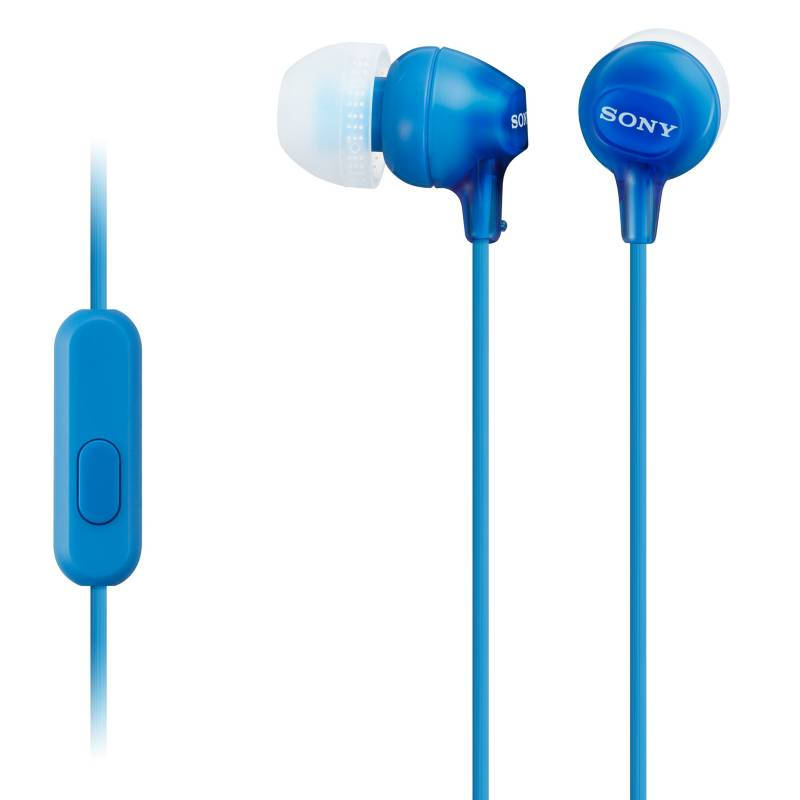 Sony - Audífono MDREX15AP Azul