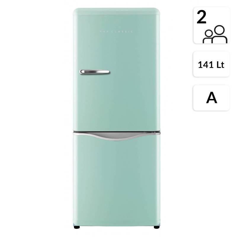 Daewoo - Refrigerador Bottom Freezer 141 lt RN-175MT Menta