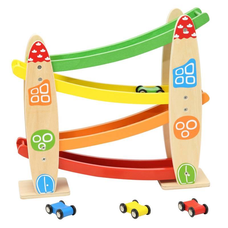 BABY WAY - Juguete De Madera Puente De Autito
