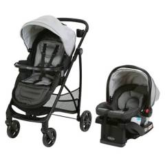 Graco - Coche Travel System Remix Sphere  base isofix