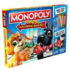 MONOPOLY - Juegos De Mesa Monopoly Junior Banco Electronico
