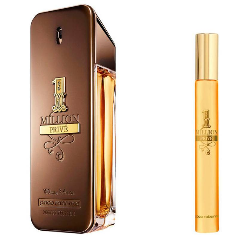 Paco Rabanne - 1 Million Privé EDP 100 Ml + Travel Spray 10 Ml
