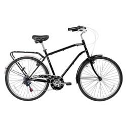 Bicicleta City Commuter Aro 26 Negra
