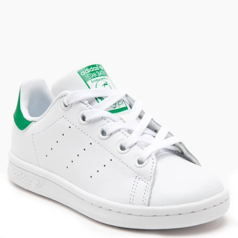 Adidas - Stan Smith Zapatilla Urbana Niño Cuero Blanca