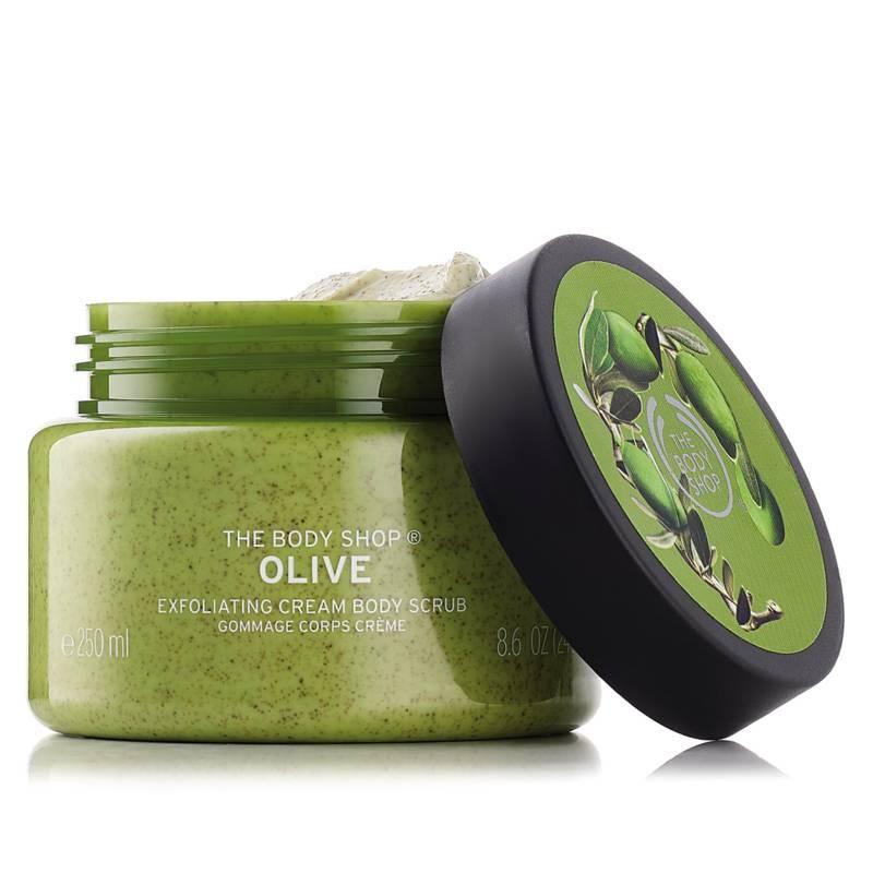 The Body Shop - Exfoliante Body Scrub Olive 250 ML