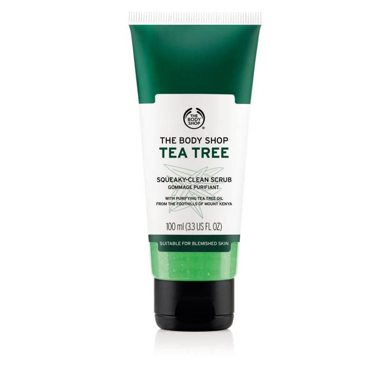 THE BODY SHOP - Exfoliante Facial Tea Tree 100 ML