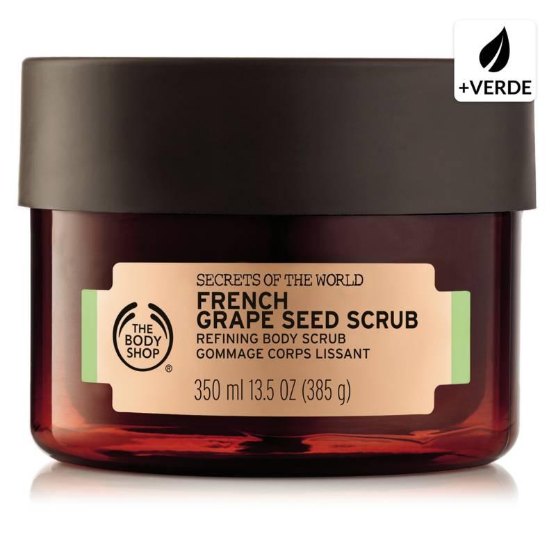 THE BODY SHOP - Exfoliante Body Scrub Fren Green Grape 350 ML