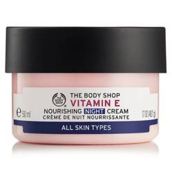 The Body Shop - Crema Hidratante de Noche Vitamin E 50 ML