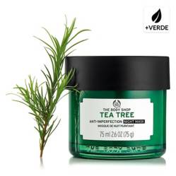 The Body Shop - Mascarilla de Noche Tea Tree Overnight Mask 75 ML