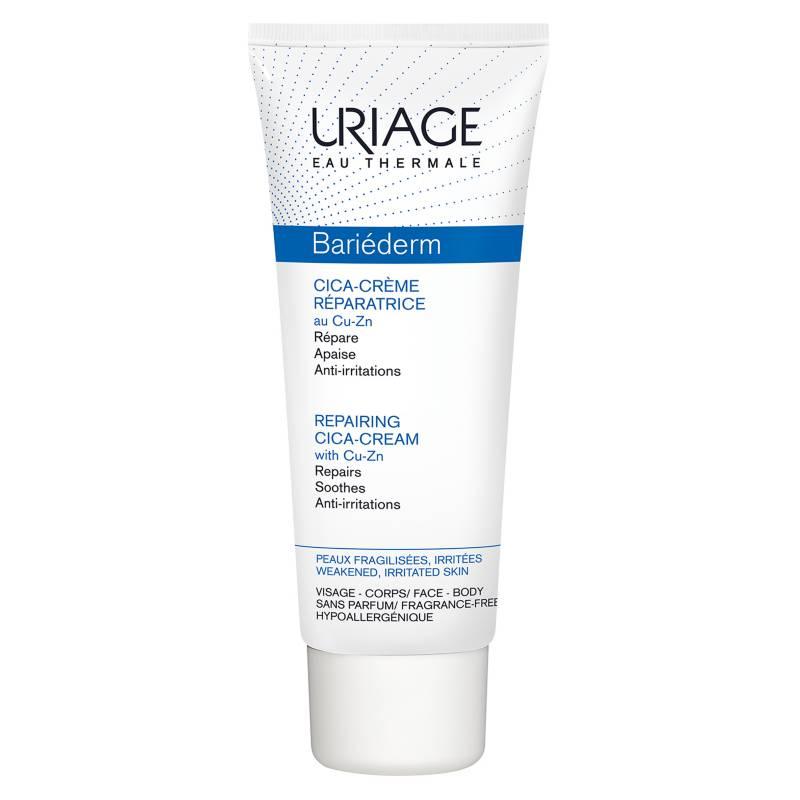 URIAGE - Antiirritaciones Bariéderm Crema Reparadora con Cobre y Zinc