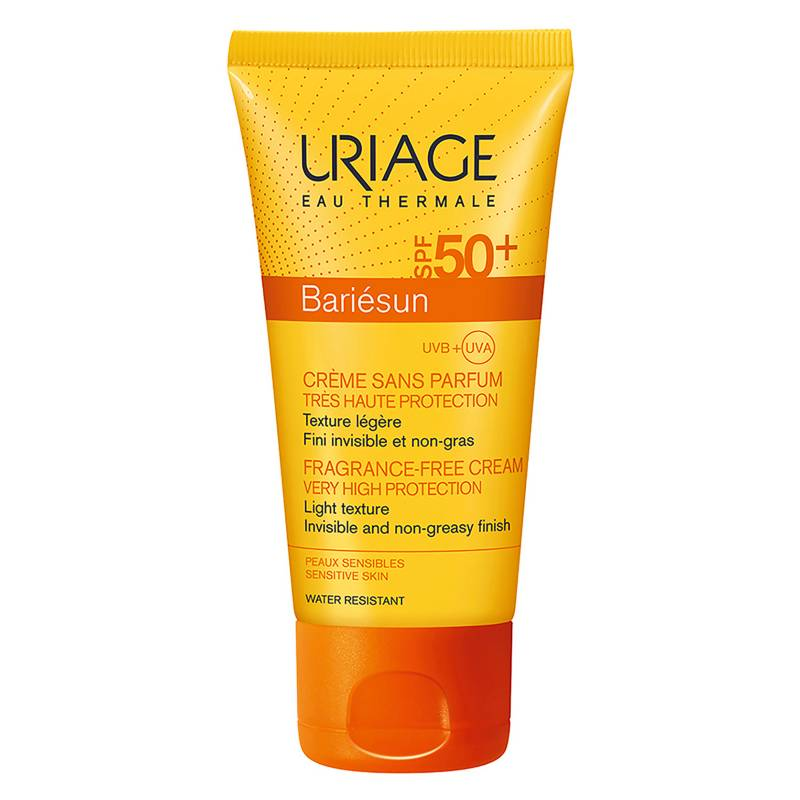 URIAGE - Bloqueador Solar Bariesun Crema sin Perfume SPF50+ Rostro
