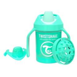 Twistshake - Vaso Antiderrame 230 ml 4+m Verde Pastel