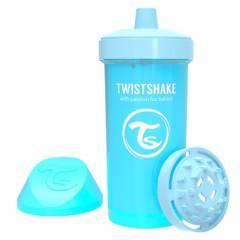 TWISTSHAKE - Vaso Antiderrame 360 ml 12+m Azul Pastel